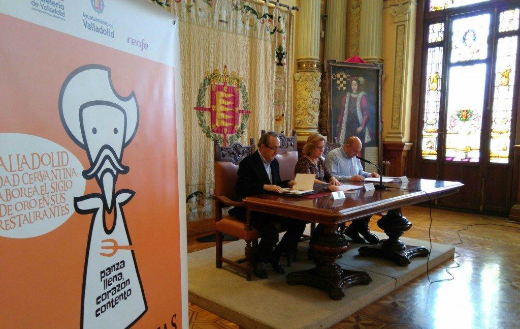 Arrancan las Jornadas Gastronómicas Cervantinas en Valladolid