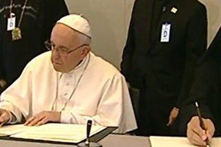 """Una """"colosal crisis humanitaria"""" denuncia la declaración firmada por Francisco, Bartolomé y Jerónimo"""