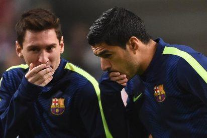 La lesion de Cristiano despierta los comentarios de Suarez y Messi