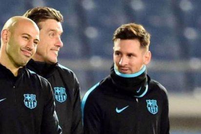 Lo que le dijo Mascherano a Messi tras enterarse del interés de Juventus