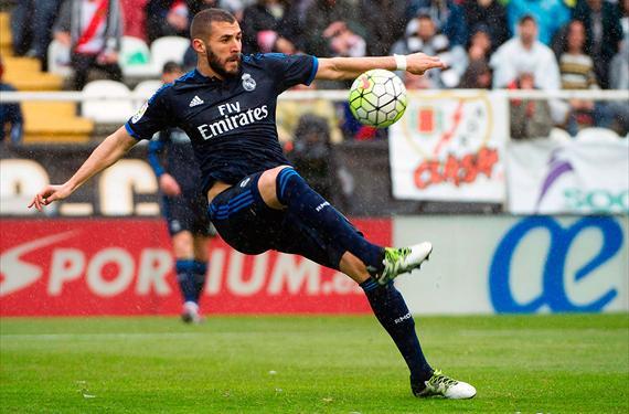 Lo que pasó con la lesión de Benzema tras el choque ante el Rayo y la medianoche