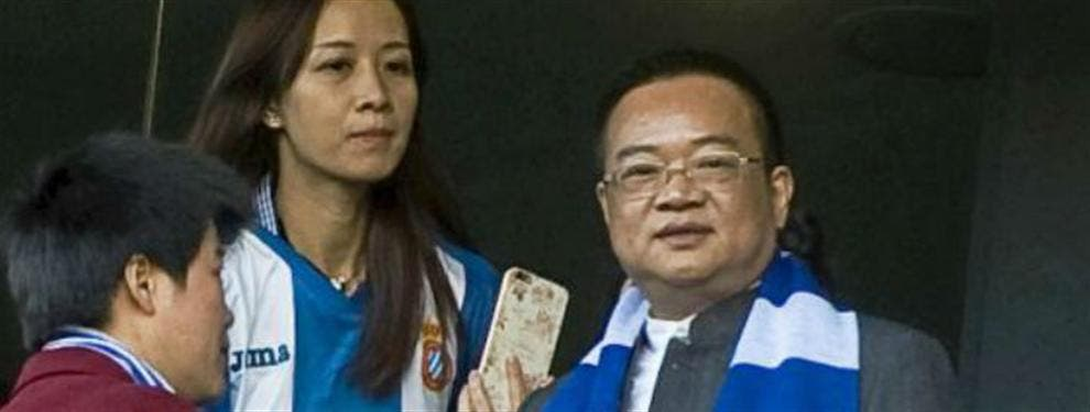 Los dueños chinos del Espanyol de Caicedo preparan un fichaje ambicioso