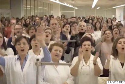 El 'flashmob' que hizo llorar a Amancio Ortega