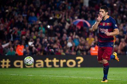 Luis Suárez o como desquiciar a Cristiano Ronaldo