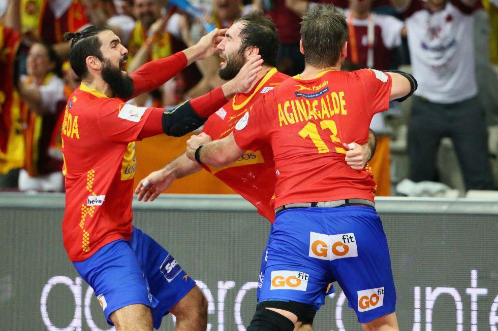 La selección española de balonmano, fuera de Río por un gol a falta de 5 segundos