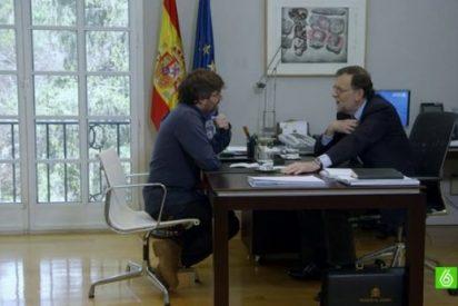 Éxito rotundo en audiencia de la entrevista de Évole a Rajoy que alcanza los 3.840.000 espectadores