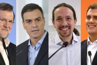 La ambición de Sánchez reaviva la de Iglesias, la de éste enciende la de Rivera y la de todos pone a hervir la de Rajoy