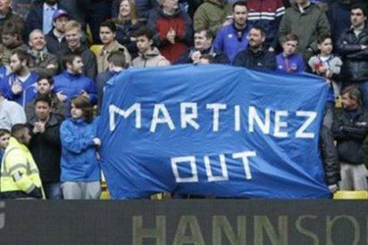 El derbi de Merseyside pone al español Roberto Martínez en la calle