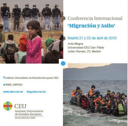 La Universidad CEU San Pablo organiza la Conferencia Internacional 'Migración y Asilo'