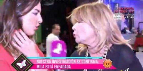 La productora de 'Sálvame' le hace la vida imposible a Mila Ximénez y ella estalla