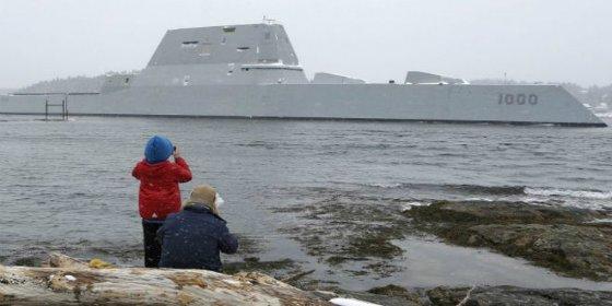 El misterioso barco 'invisible' diseñado para la fuerza naval de EEUU