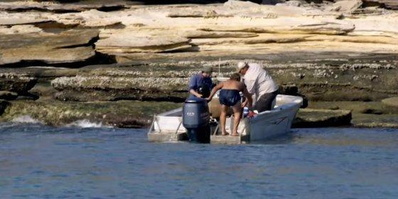 [VÍDEO] El náufrago encontrado en una isla desierta por casualidad