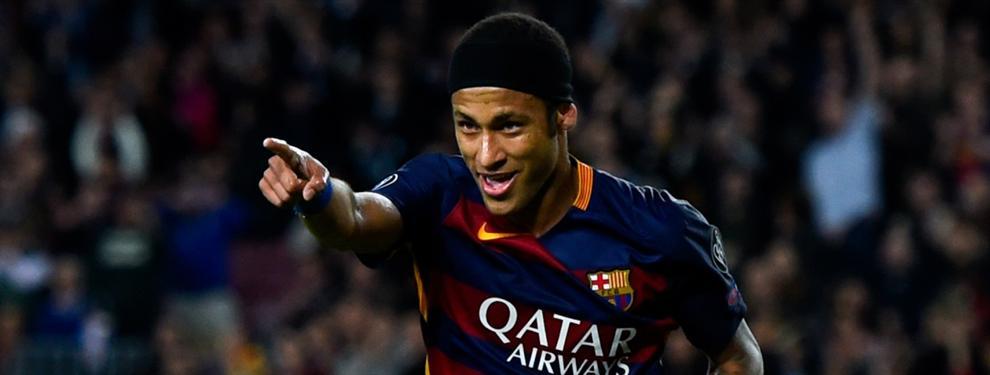 Neymar hace las paces con un jugador del Barcelona