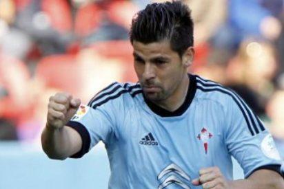 Nolito lidera al Celta de Vigo y mantiene en descenso al Sporting de Gijón