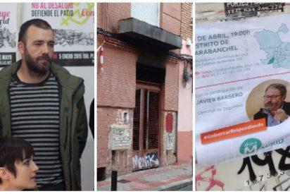 Los 'okupas' aterrorizan a los vecinos de Carabanchel con la protección de Carmena