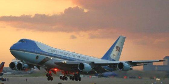 Cómo es viajar en el Air Force One con el presidente de EEUU
