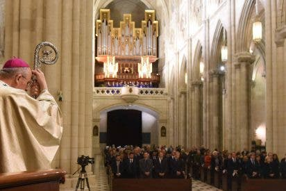 """Carlos Osoro: """"El terrorismo cansa y destruye la voluntad de Dios"""""""