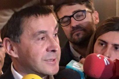 Los facinerosos de Podemos pasean al terrorista Otegi por la Eurocámara y se ausentan del recuerdo a las víctimas de ETA
