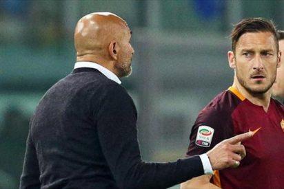 Otra bronca entre Totti y Spalletti, ¿con las manos de por medio?