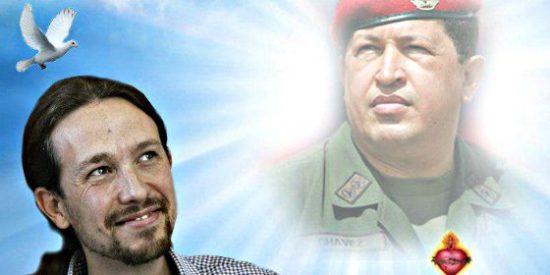 Así babeaba Pablo Iglesias en Venezuela alabando a su padrino Hugo Chávez