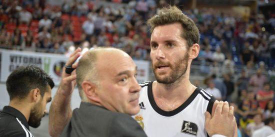 """Pablo Laso: """"Todos los madridistas estarán jodidos, como yo, pero el equipo se ha vaciado"""""""