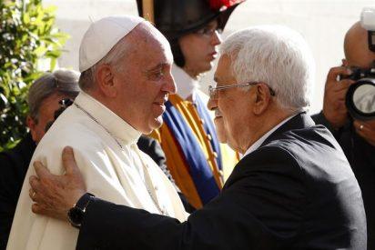 """Mahmud Abbas destaca las """"justas y valientes posiciones"""" del Papa"""