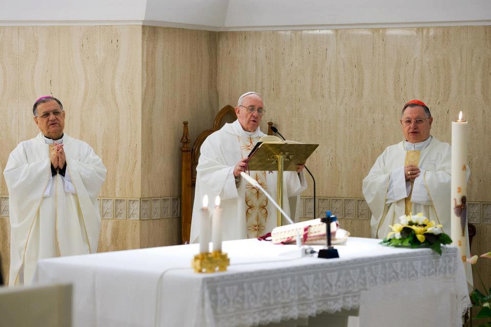 """El Papa subraya que """"Dios y dinero son patrones cuyo servicio es irreconciliable"""""""