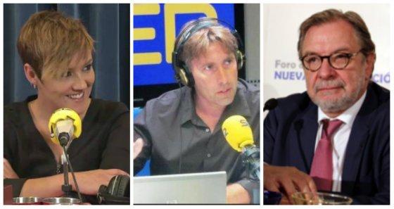 ¿Le cortará Cebrián las orejas a Javier del Pino (SER) por llevar a Cristina Pardo (laSexta)?