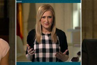 Cifuentes da una lección a Ana Pastor de cómo se le aprieta a un separatista catalán