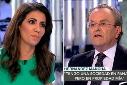 "Hernández Mancha deja alucinando a Ana Pastor: ""He pedido venir aquí porque si me toca 'Al Rojo Vivo' no salgo vivo"""