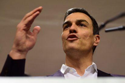 """Pedro Sánchez se apoya en su """"núcleo duro"""" para superar la desesperación por no ser presidente"""