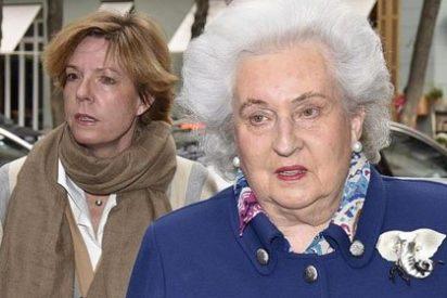 """Las primeras palabras de la Infanta Pilar sobre 'los papeles de Panamá': """"El escándalo lo están montando ustedes"""""""