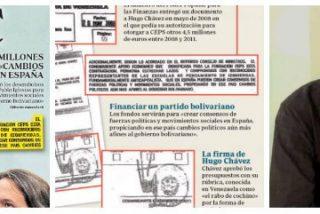 La madre del cordero de la financiación chavista de Podemos: 7 millones para crear un partido político bolivariano en España