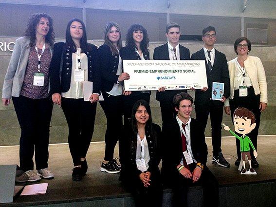 Alumnos de La Salle, premio al emprendimiento social