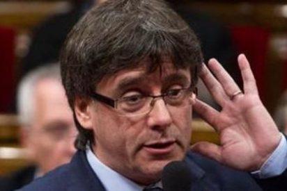 """El independentista Puigdemont llama a los catalanes a """"hacerse respetar ante dragones feroces"""""""