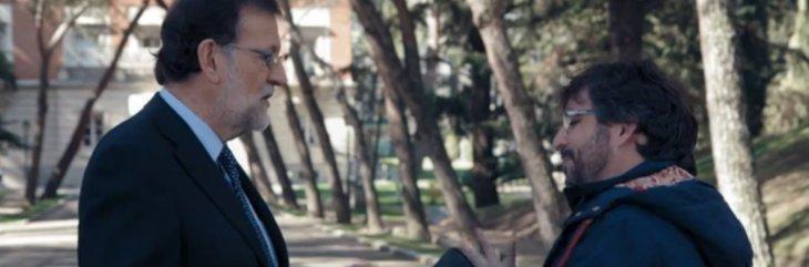 """Rajoy sale vivo de la entrevista con Jordi Évole: Usted, Jordi, no reconoce lo bueno, solo destaca lo malo"""""""