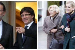 El PP simpático entra en campaña electoral: más dinero a Cataluña y purga de Cifuentes en Telemadrid