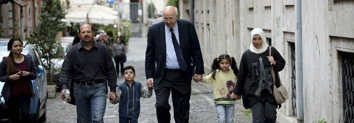 """Hassan: """"El Papa Francisco ha hecho por mi familia más que ningún otro"""""""