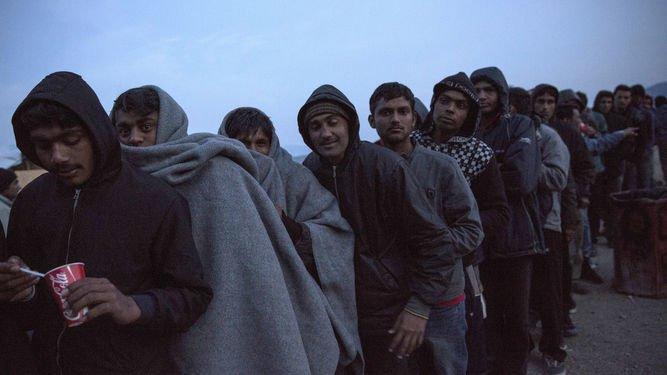 Férreo dispositivo de seguridad para la visita papal a Lesbos