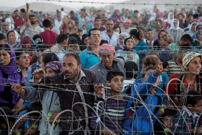 Guardias turcos matan a refugiados sirios que intentan cruzar la frontera