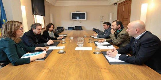 El Gobierno autonómico y la Diputación de Palencia avanzan en el desarrollo de la ordenación territorial en la provincia