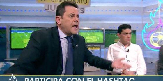 """Roncero machaca a los jugadores del Madrid: """"¿Somos nosotros los que tenemos que arrimar el hombro? ¡Que remonten ellos, cojones!"""""""