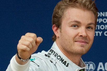 Rosberg se impone en China, Hamilton finalizó séptimo, Sainz acaba 9º y Alonso 12º