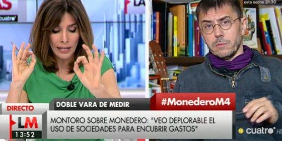 """Monedero se acuerda de Eduardo Inda y se pone...¡de parte de Aznar!: """"Lo suyo es un 'periodismo pantunflo'"""""""