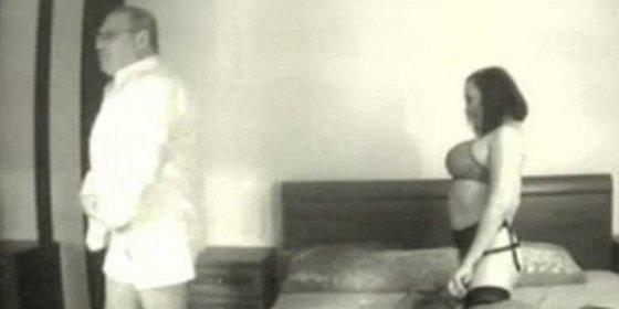 El vídeo sexual del rival de Putin con una desatada activista en lencería