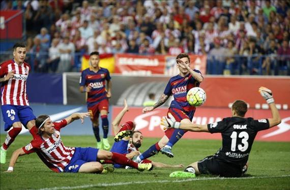 Simeone tiene motivos para estar preocupado con Messi y Neymar