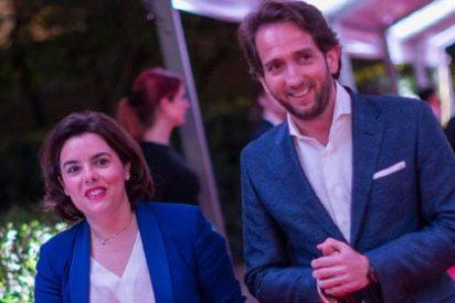 Sáenz de Santamaría y Rivera 'apadrinan' el estreno del canal de Secuoya
