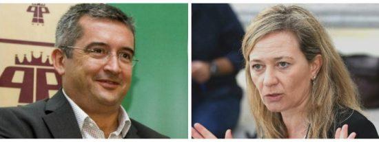 El sospechoso 'menage a trois' judicial de Vicky Rosell, la 'Miss Aeropuerto' de Podemos