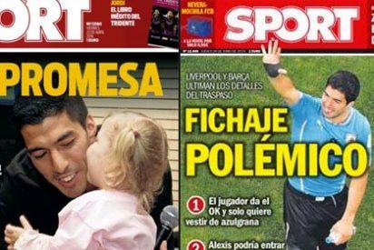 Blanqueo de imagen para Luis Suárez a cargo de 'Sport'