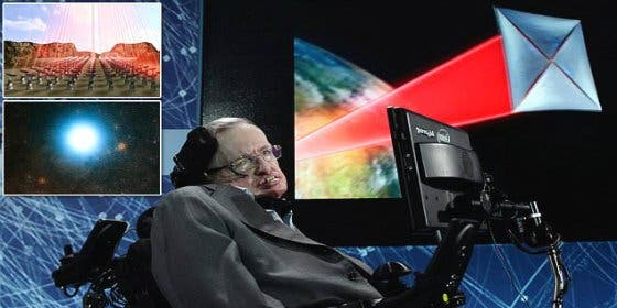 El increíble plan para encontrar alienígenas en Alfa Centauri que respalda Stephen Hawking